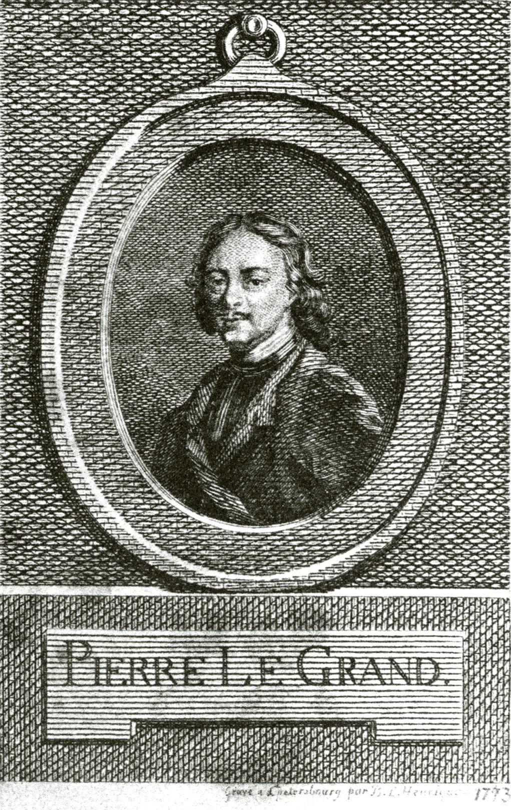102. Портрет Петра I, писанный Риго.