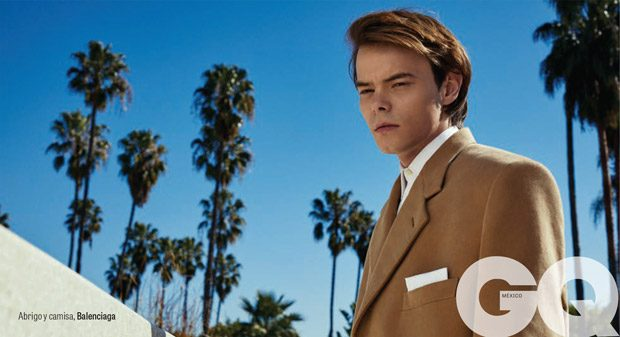 Stranger Things Star Charlie Heaton Poses for GQ Style Mexico April 2017 Issue