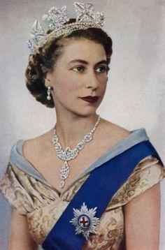 Королева Елизавета II,  1952.