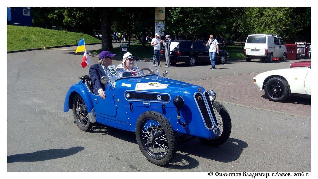 """Выставка ретро автомобилей """" Leopolis Grand Prix"""" 2016 г."""