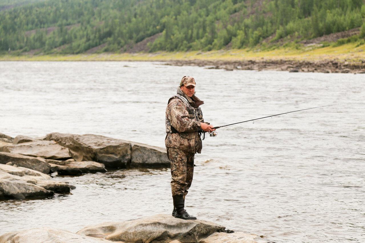 На рыбалку тунгуска