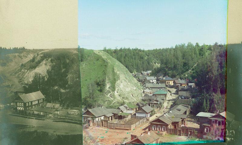 1904 Вид сверху на предместье города Тобольска,расположенное между склонов мыса Чукман и Панина бугра2.jpg