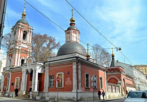 Церковь Николая Чудотворца в Подкопаях