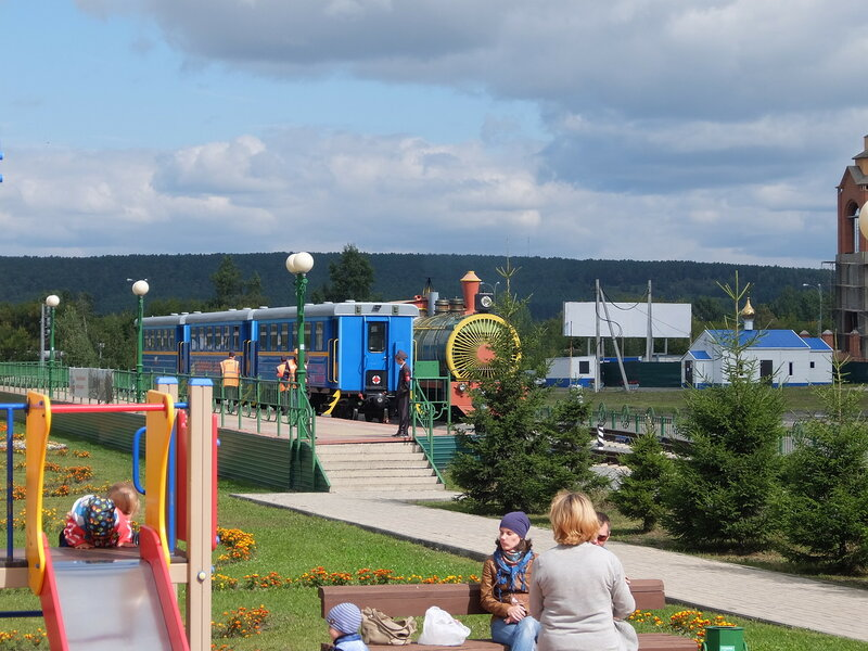 Кемерово - Детская железная дорога - Вагон