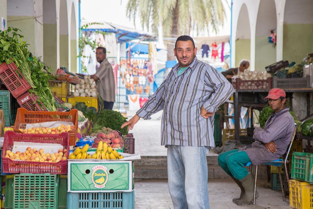 рынок на джербе