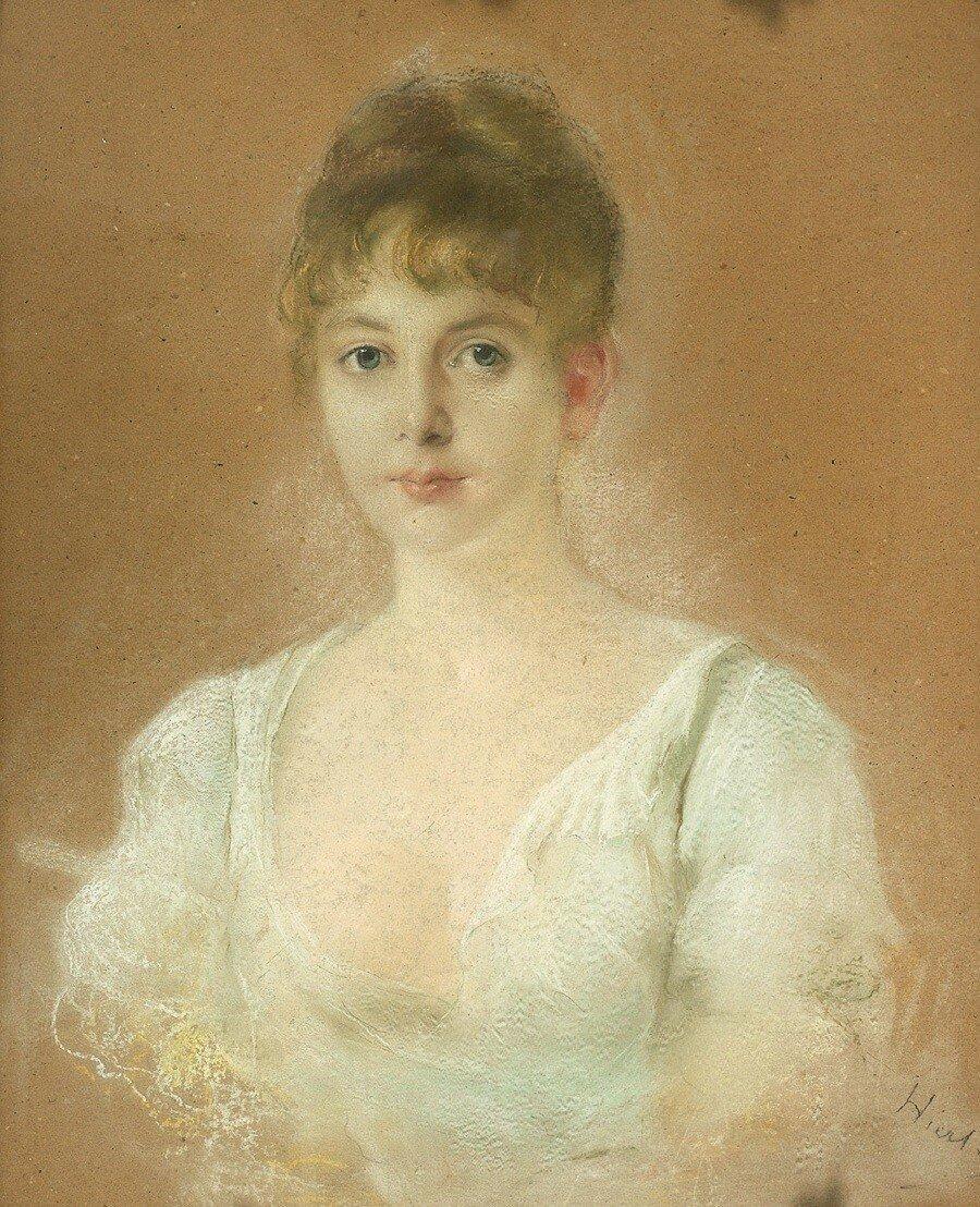 Otto Hierl Deronco Portrait eines Mädchens.JPG