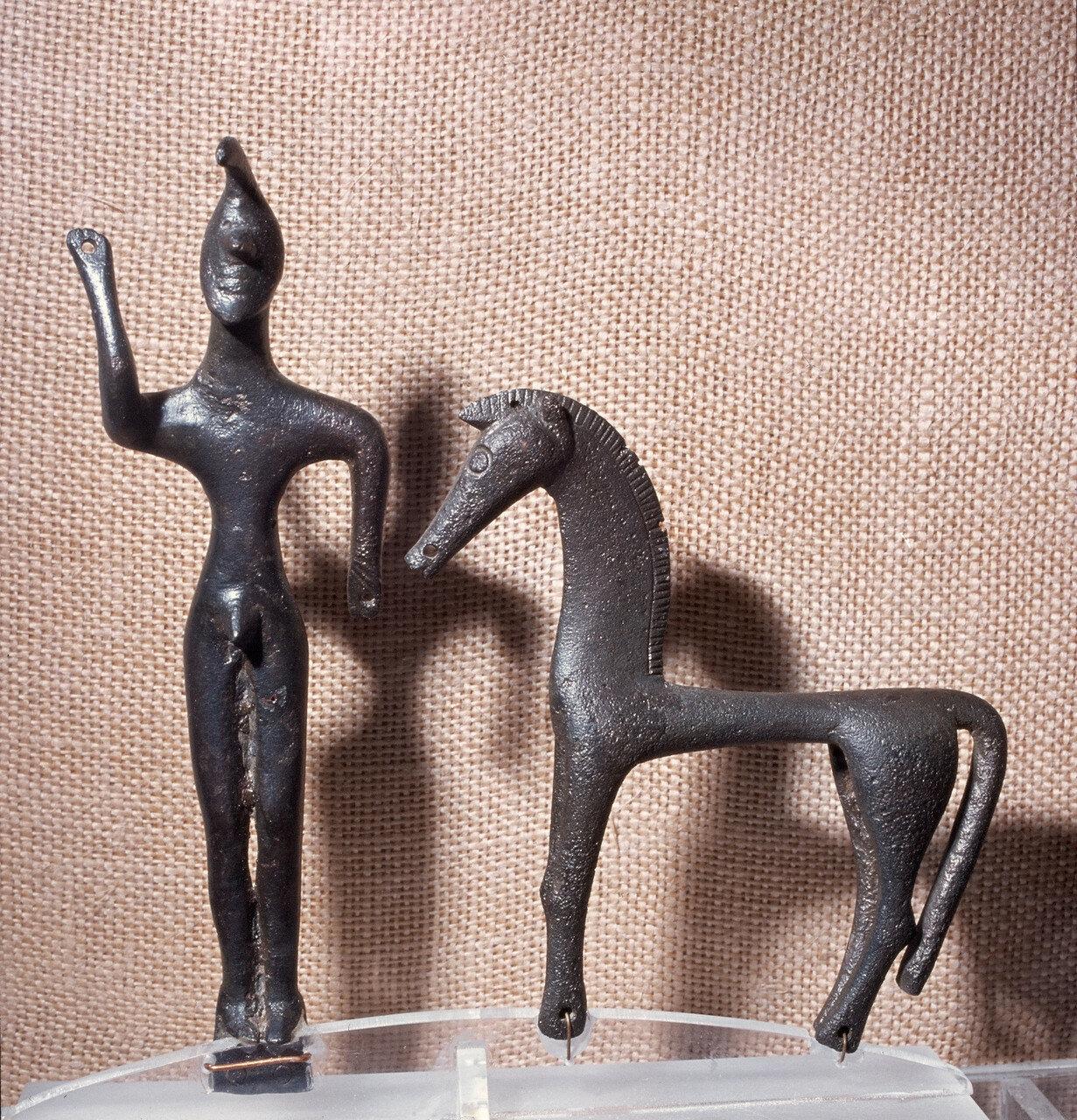 Олимпия. Музей. Статуэтка Зевса. VII в. до н.э.