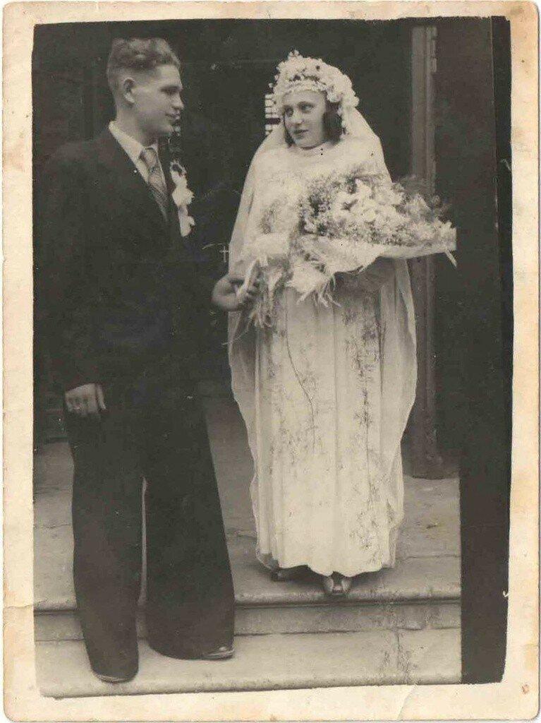 1950. Анатолий и Ада Пилепчук. Одесса