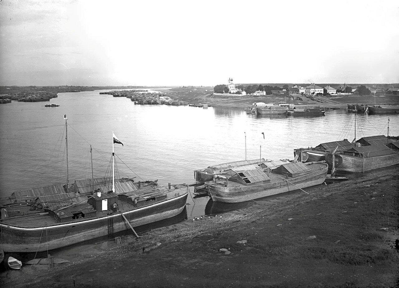 Устье реки Шексна
