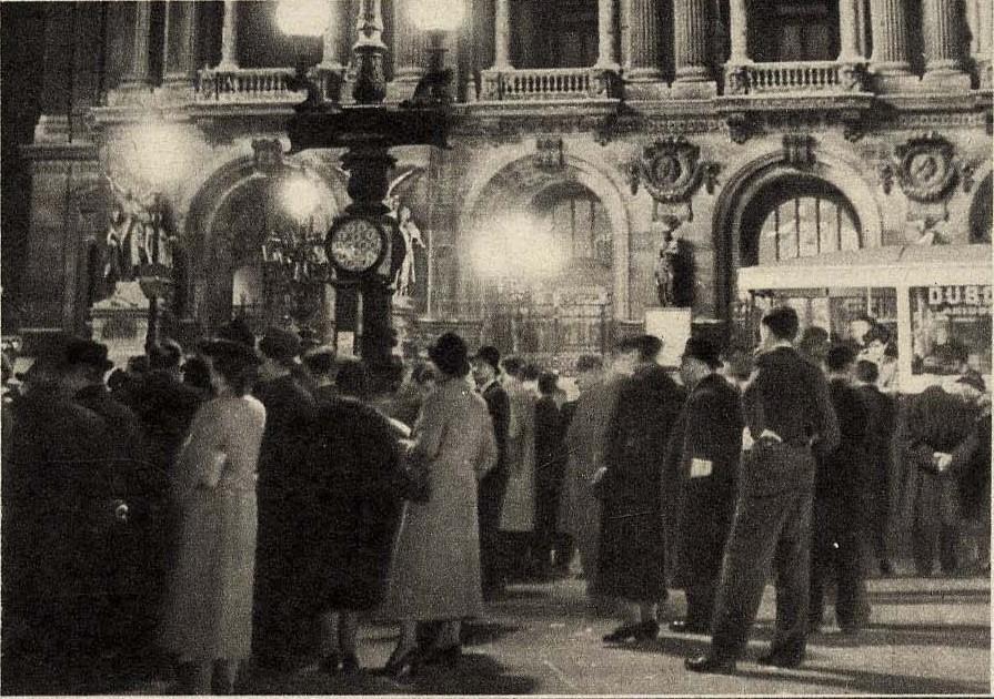 1939. Перед открытием Оперы