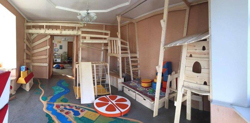 Игровая комната в детском хостеле