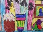 Науменко Эвелина (рук. Винокурова Анна Викторовна) - Весенний натюрморт