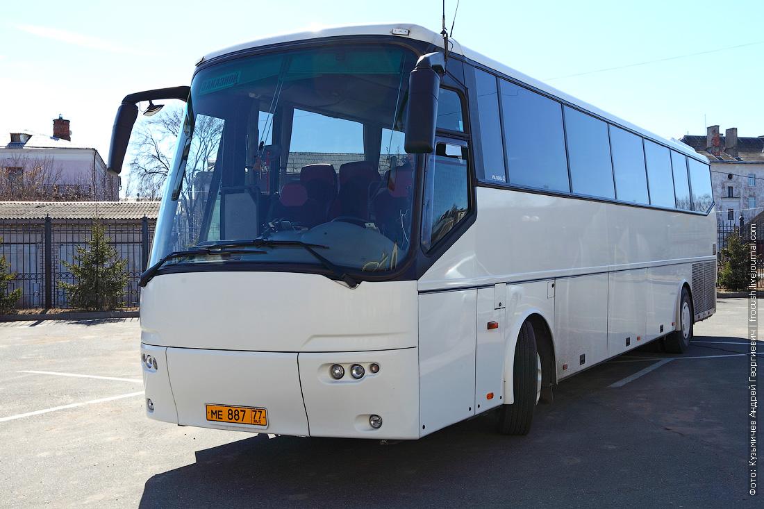 туристический автобус для автобусных туров мостурфлота