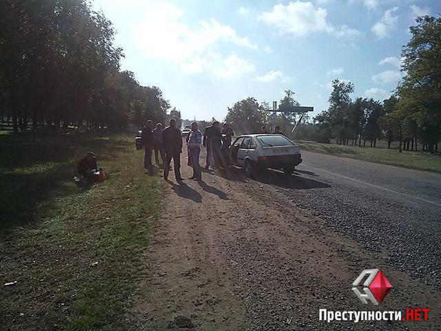 Полицейский, сбивший насмерть мужчину на Николаевщине, был пьяным, - замглавы Нацполиции Бушуев. ФОТОрепортаж