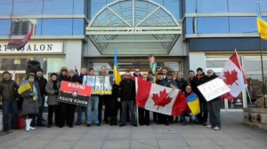Канадские правосеки провели акцию в защиту Савченко политзаключенным'заключенных