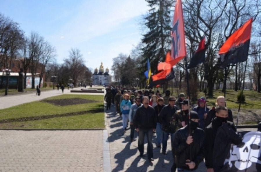 Акция до освобождения Чернигова от московско-большевистских оккупантов