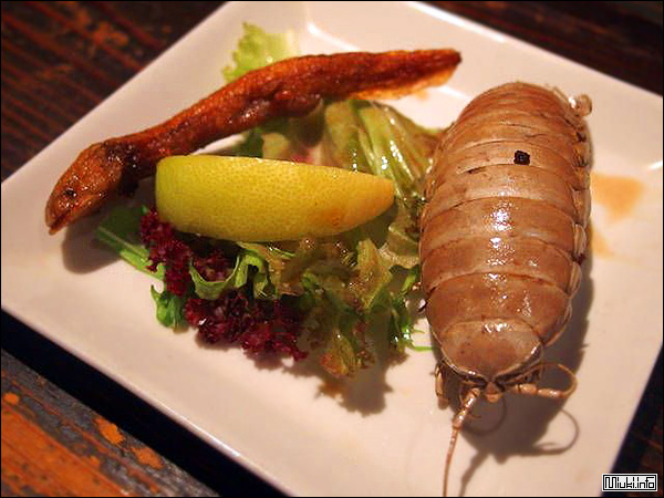 Оригинальные блюда из японского ресторана редкого мяса