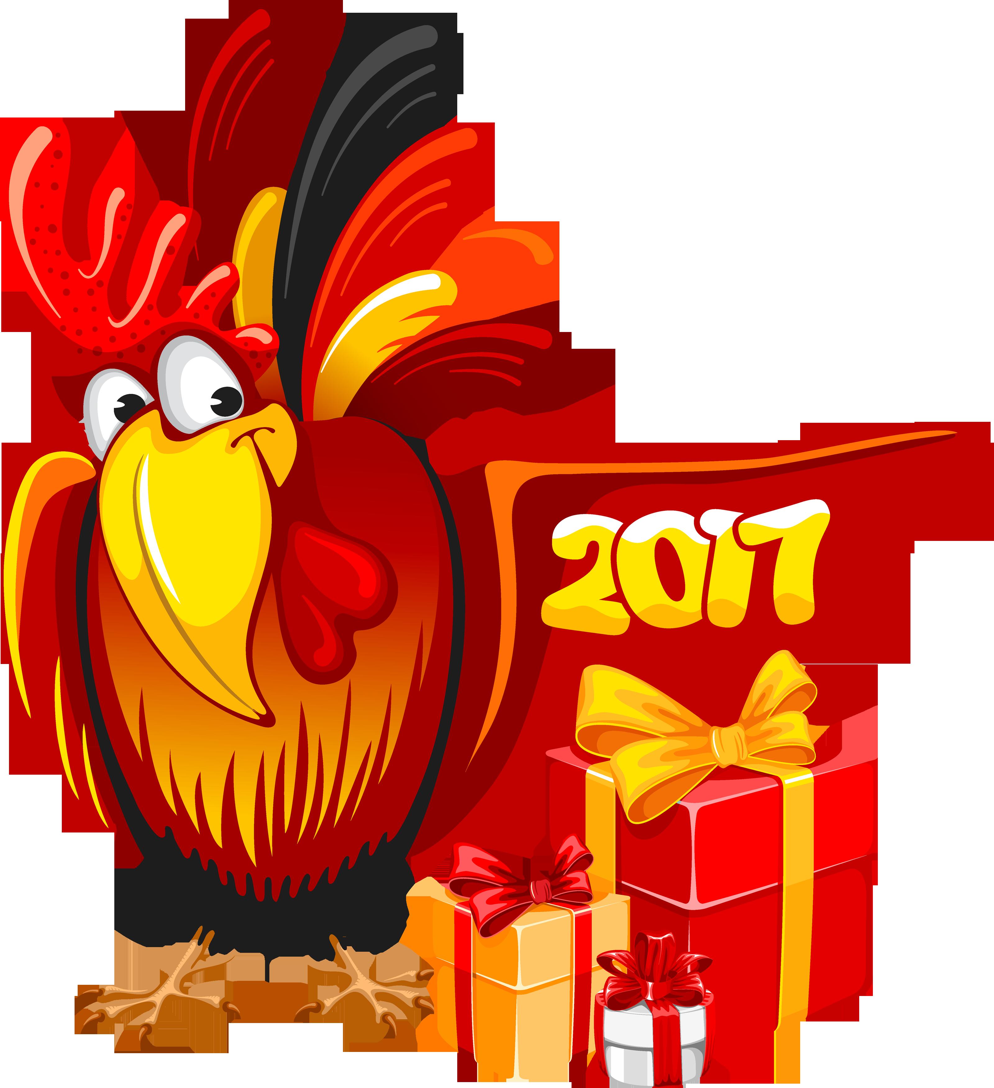 Анимированные новогодние открытки 2017 год петуха, скоро