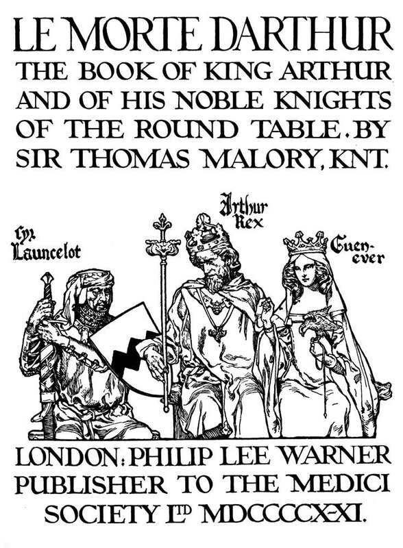 king arthur by sir thomas malory essay