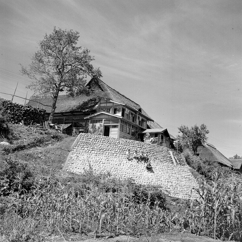 House on a Hill - 1950s Japan