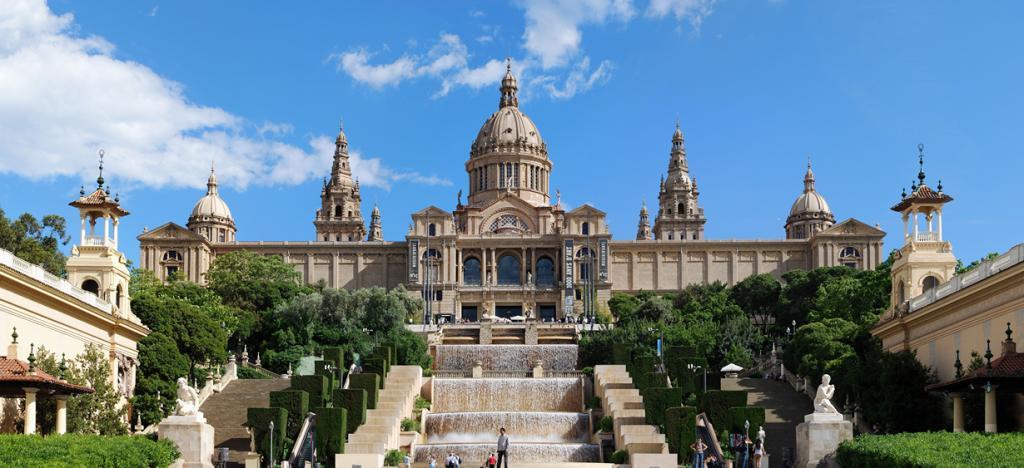 1 место. Барселона. Национальный дворец. (Felix Konig)