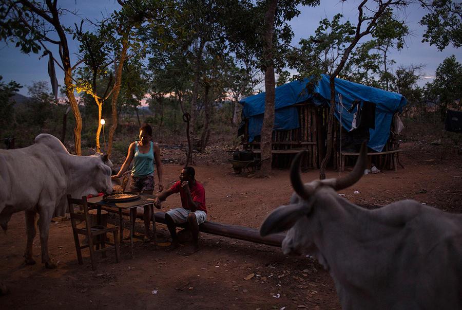 8. Консесайо — одна из сотни других искателей сокровищ, обитающих в деревянных хижинах. Они обходятс