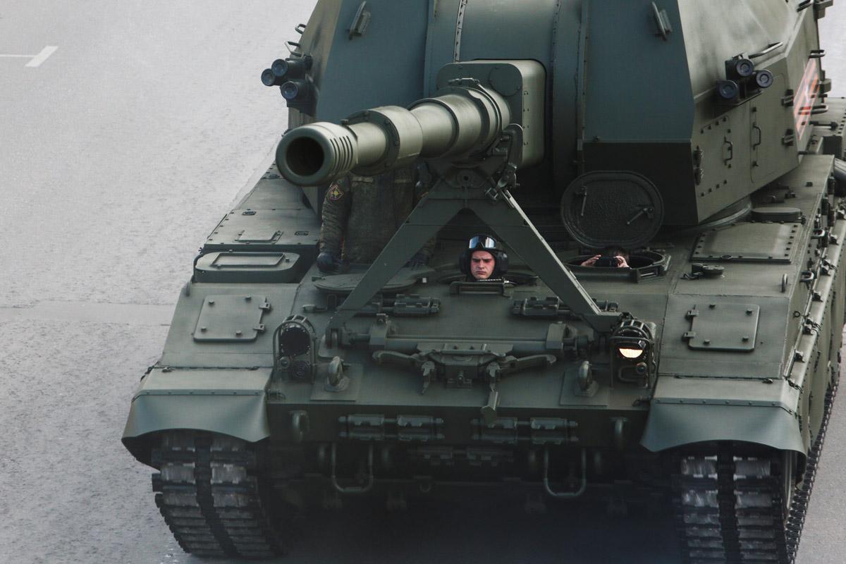 Самоходная артиллерийская установка «Коалиция-СВ».
