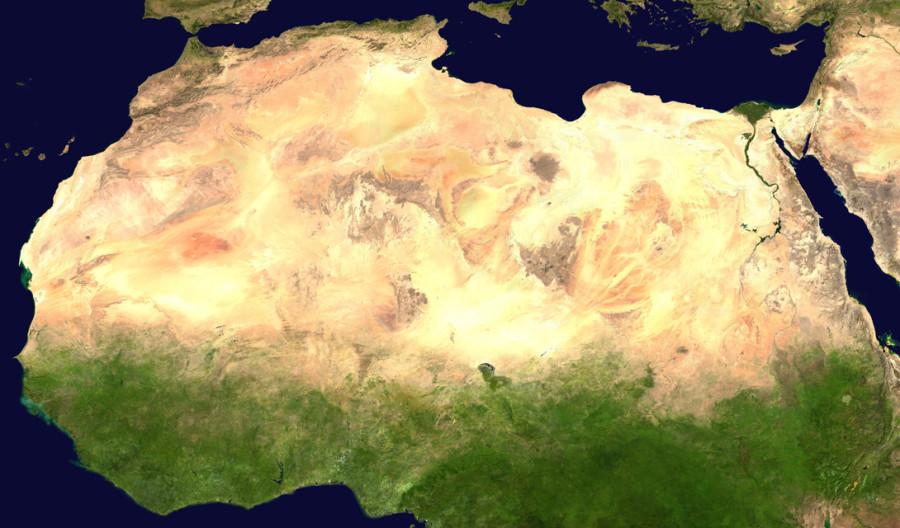 4. В 2013 году учеными было проведено компьютерное моделирование Сахары, согласно которому они пришл