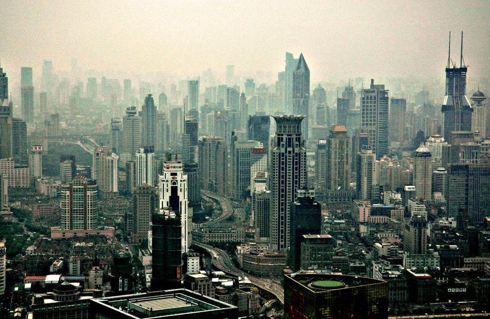 45. Шанхай, Китай.