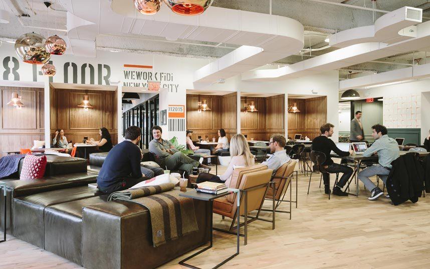 WeWork ($ 10 млрд). Компания предоставляет рабочие помещения для предпринимателей и фрилансеров.