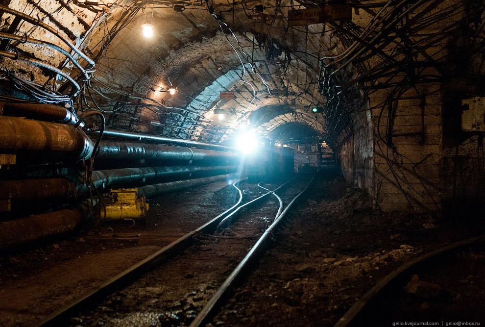 4. Общая протяженность железнодорожных путей на подземных горизонтах СУБРа — более 40 километро