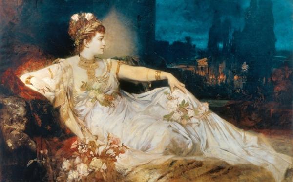 Эта распутница была третьей женой Клавдия (римского императора),который в добавок, приходился дв