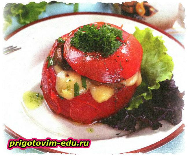 Омлет с помидорами по Сибирски