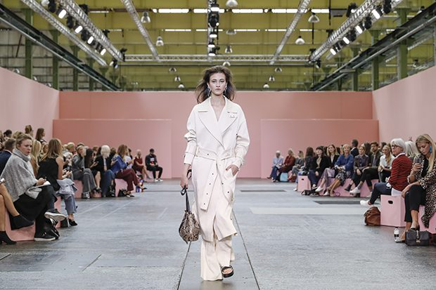 Designer Christina Exsteen presented her Spring Summer 2017 Collection for  By Malene Birger  during