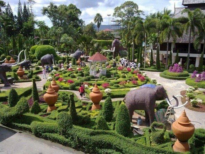 Топ 10 самых невероятных садов в мире (фото)