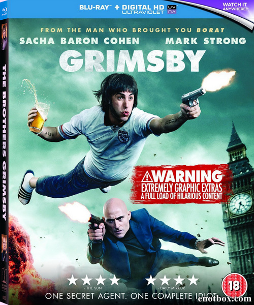 Братья из Гримсби / Grimsby (2016/BD-Remux/BDRip/HDRip)