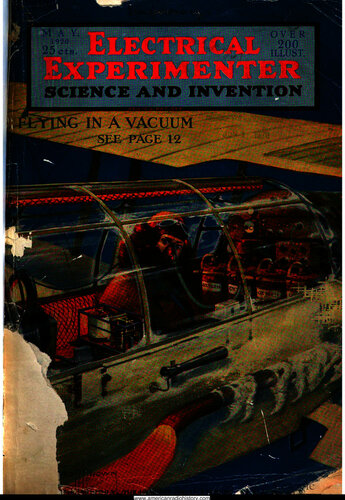 Electrical Experimenter: 1920 May - - Book Cover