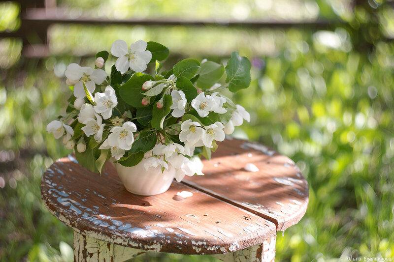Кружечка с цветами