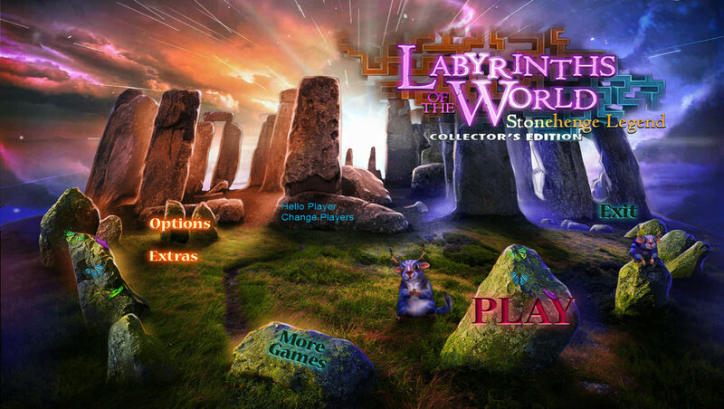 Labyrinths of the World: Stonehenge Legend CE