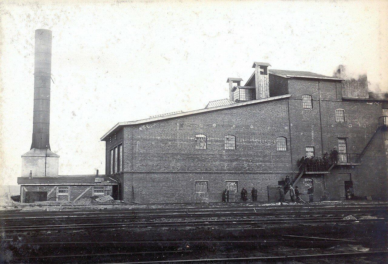 1929. Сушильный завод при станции Секирино