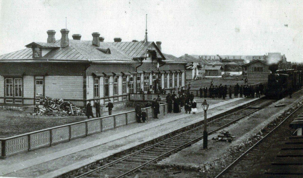 Станция Ржев Московско-Виндавской железной дороги