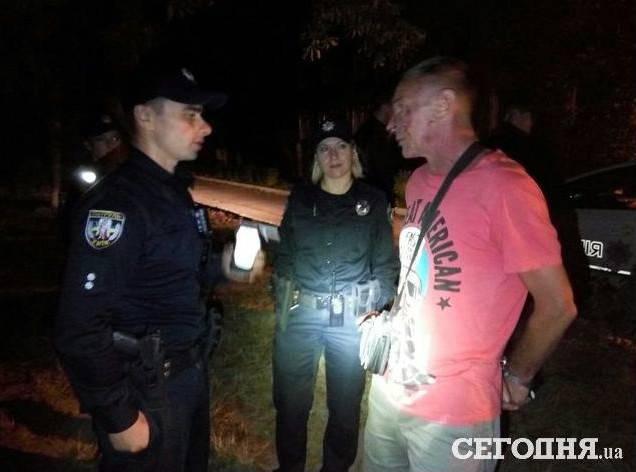 Пьяный водитель пытался ночью скрыться от киевских патрульных. ФОТО