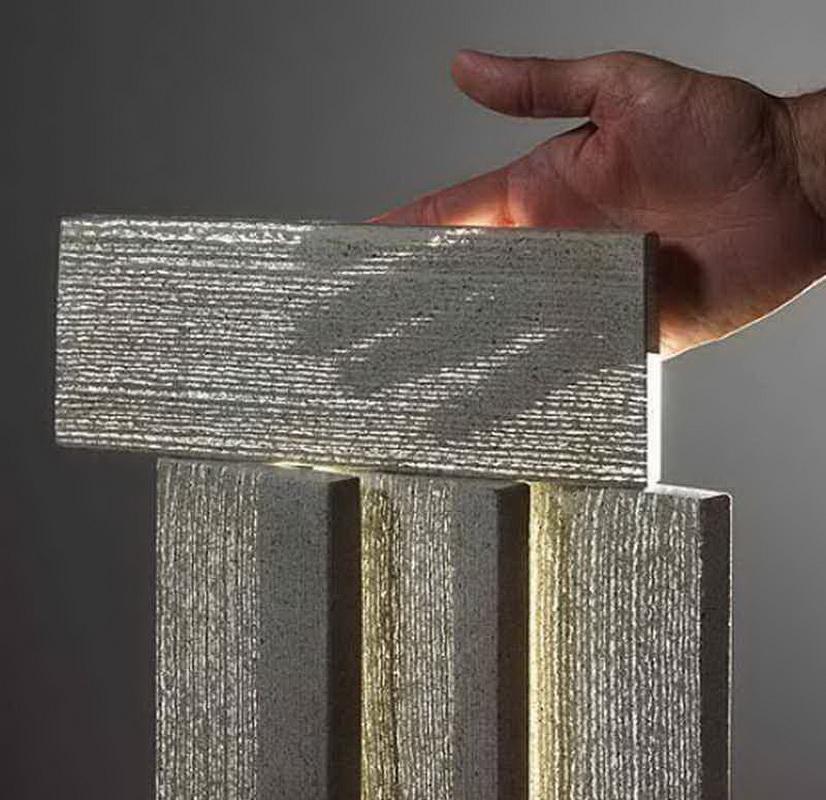 Прозрачный бетон в москве готовая бетонная смесь в мешках цена леруа