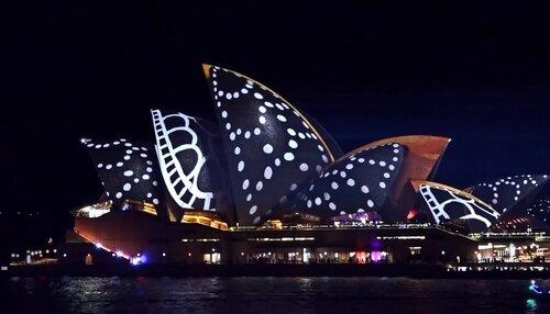 Фестиваль света в Австралии - Яркий Сидней