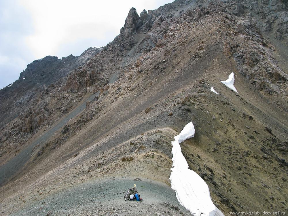 перевал на озеро Алакёль