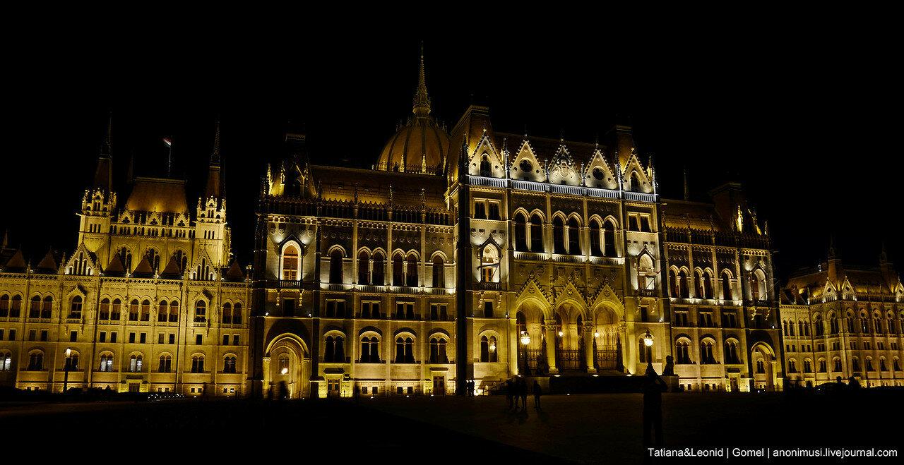 Ночной Будапешт