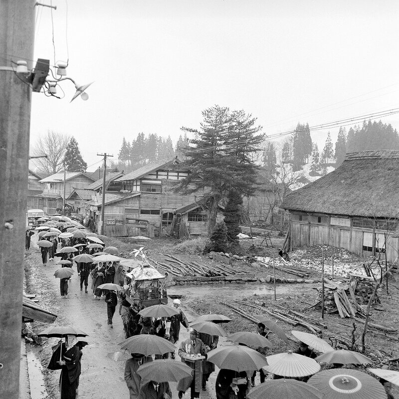 Japanese Funeral Procession 1950s - 4 of 6