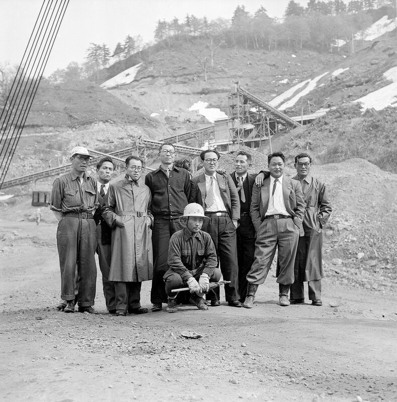Mining or Construction Crew - 1950s Japan