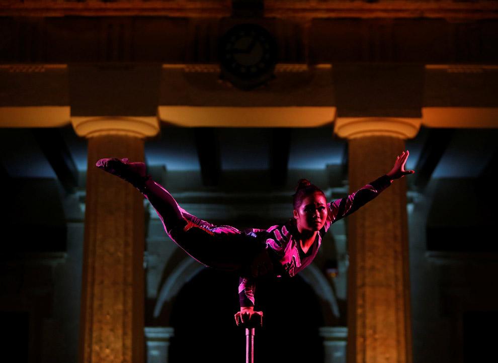 13. Мастера Шаолиня, показательное выступление на Мальте 17 сентября 2016. (Фото Darrin Zammit