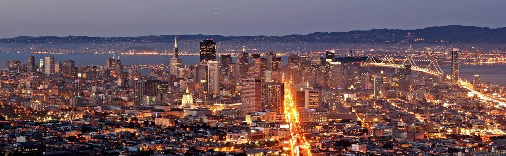 1. Сан-Франциско, США. Мегаполис на берегах залива буквально пестрит достопримечательностями и полон